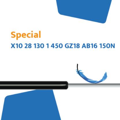Hahn gasveer X10 28 130 1 450 GZ18 AB16 150N