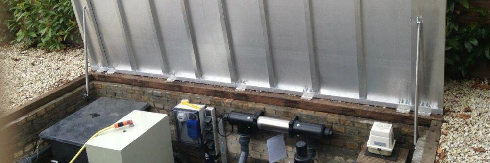 Gasveer voor deksel filterput